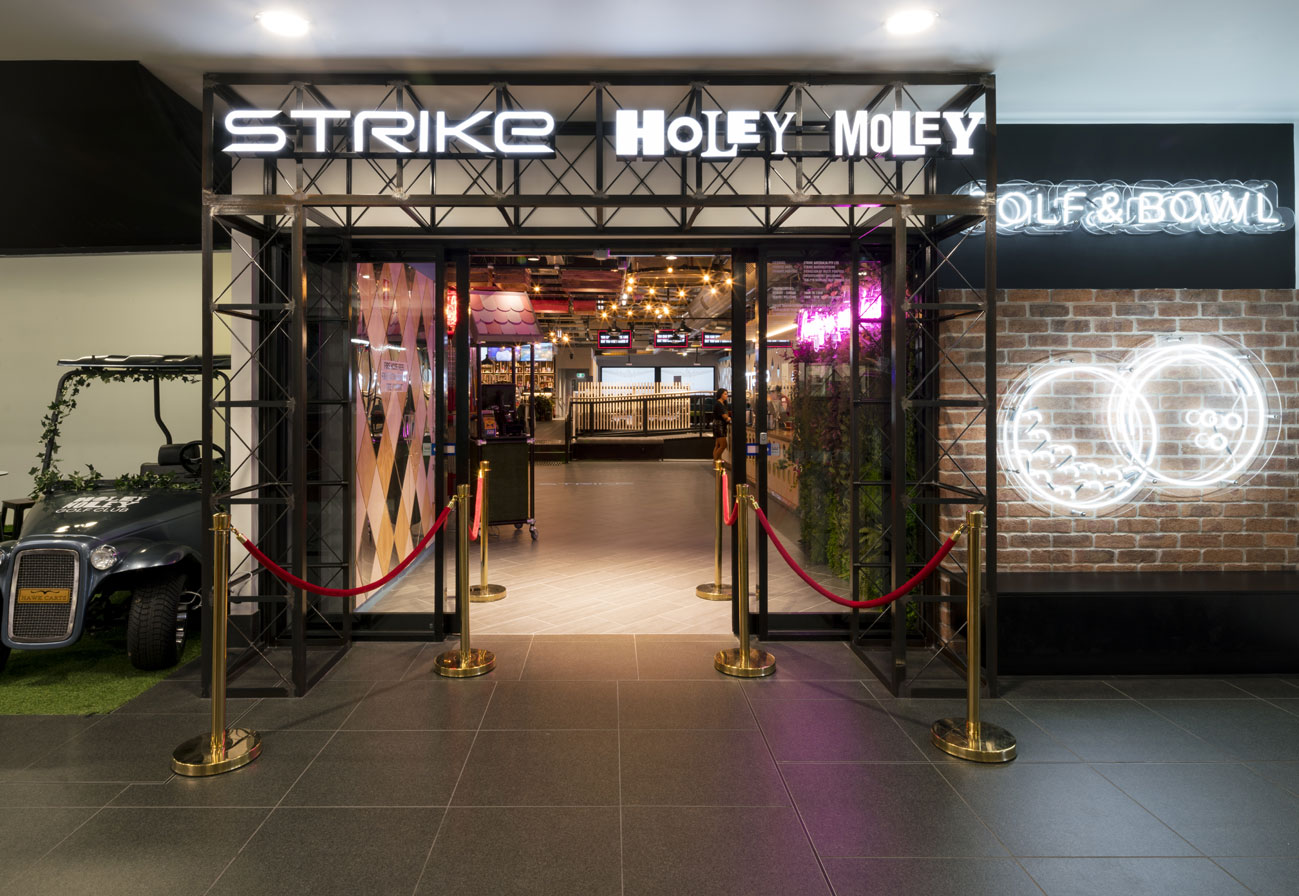 Strike Bowling x Holey Moley